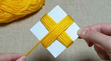 Super Easy Flower Craft Ideas with Woolen