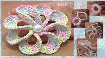 Gorgeous Crochet FLOWER 3D
