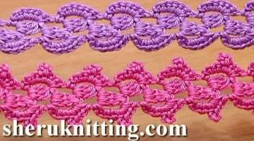 Crochet Lace Braid Ribbon Tape Tutorial 31