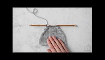Purl 2 Together + Slip Slip Purl Tutorial