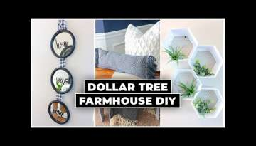 Dollar Tree DIY Farmhouse Decor 2020