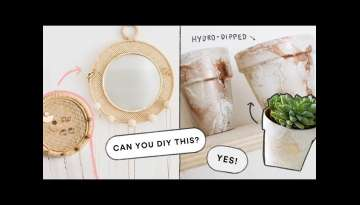 EASY Home Decor DIY Ideas