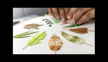 HAND EMBROIDERY FOR BEGINNERS