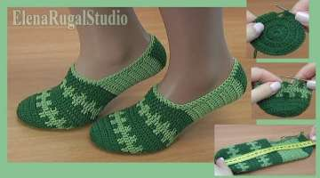 How To Crochet Simple Sock