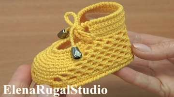 Cute Crochet Shoes For Baby
