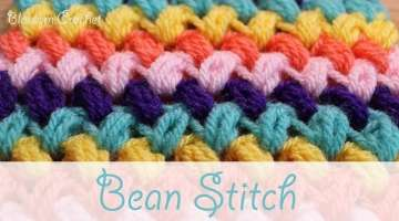 Super easy crochet: Zig-Zag Bean Stitch
