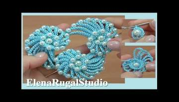 Learn How to Crochet Cord Necklace Demo Version Tutorial