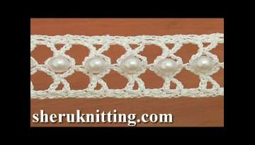 How to Crochet a Beaded Narrow Tape Tutorial 21