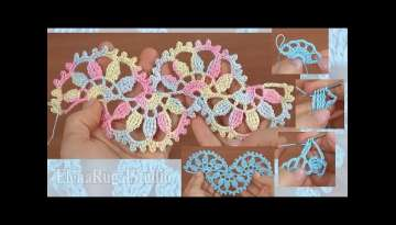 How to Crochet Beautiful Lace Tutorial
