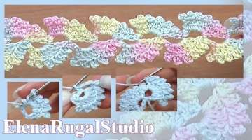 Lace Cord Crochet Tutorial 6