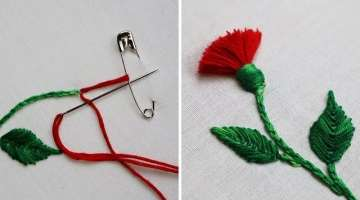 Hack To Make Tassels Using Safety Pin