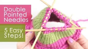 Switch to Double Pointed Knitting Needles