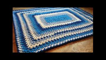 Crochet Baby Blanket for Beginners Pattern