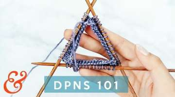 Double Pointed Needles for Beginners