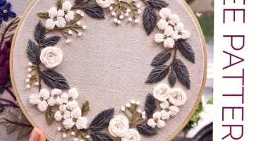 Free pattern 001 for embroidery