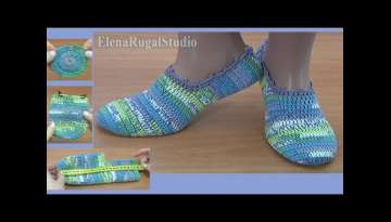 EASY to Crochet Slippers Tutorial