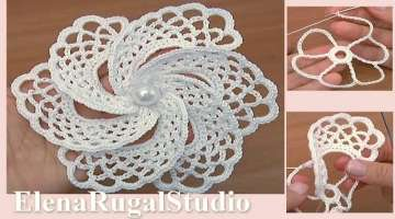 Crochet 6- Petal Flower Tutorial
