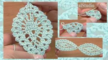 Crochet Pineapple Stitch Lace Tape Tutorial 14 Crochet Lace Pattern