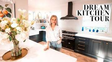 KITCHEN TOUR AND HOW WE DESIGNED OUR DREAM KITCHEN