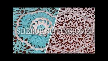 Knitting and Crochet Tablecloths Collection